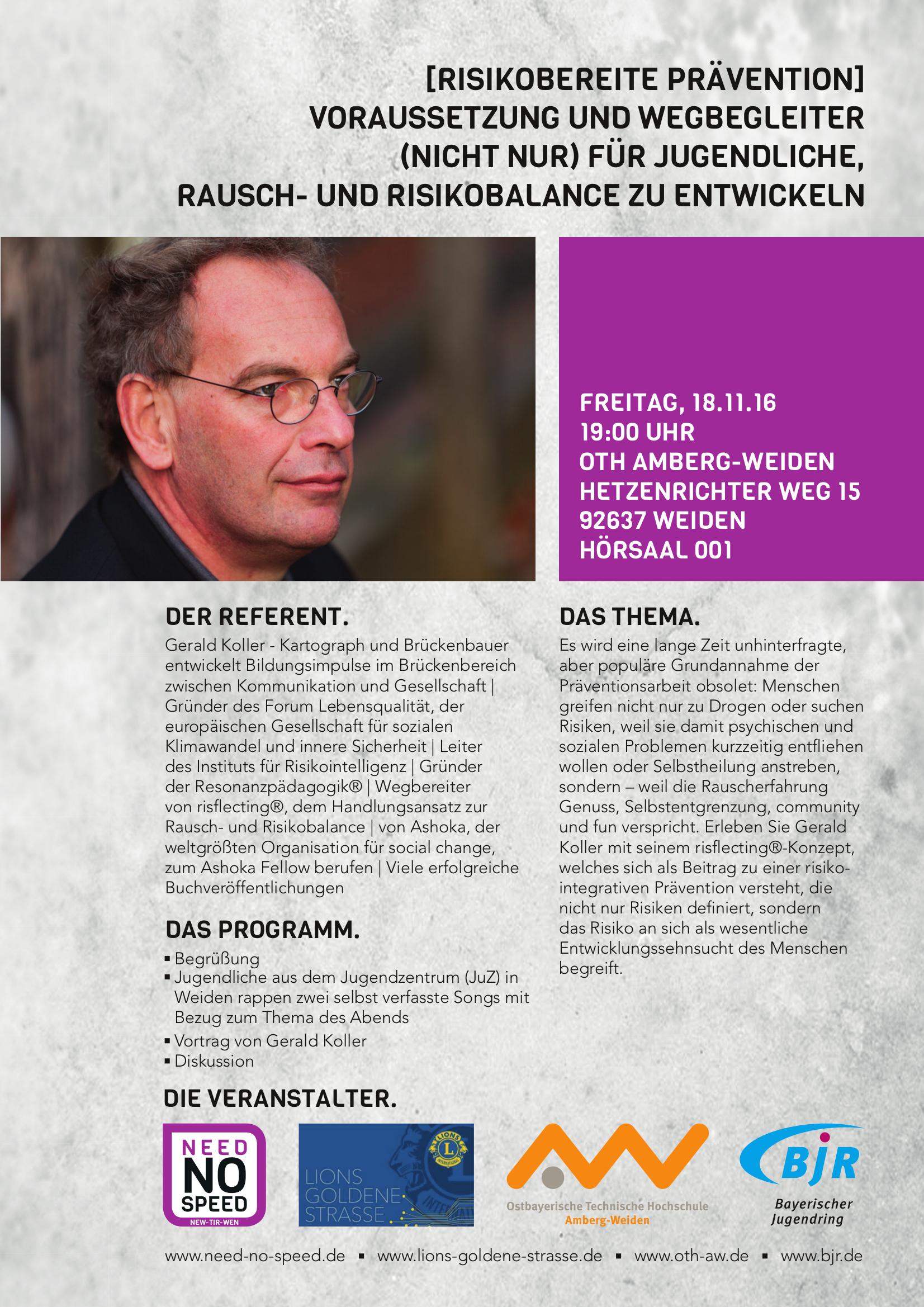 Vortrag Gerald Koller aus Österreich